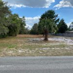 View of vacant lot