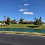 View from Waterfern vacant lot showing lake