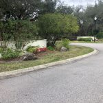 View of subdivision entrance